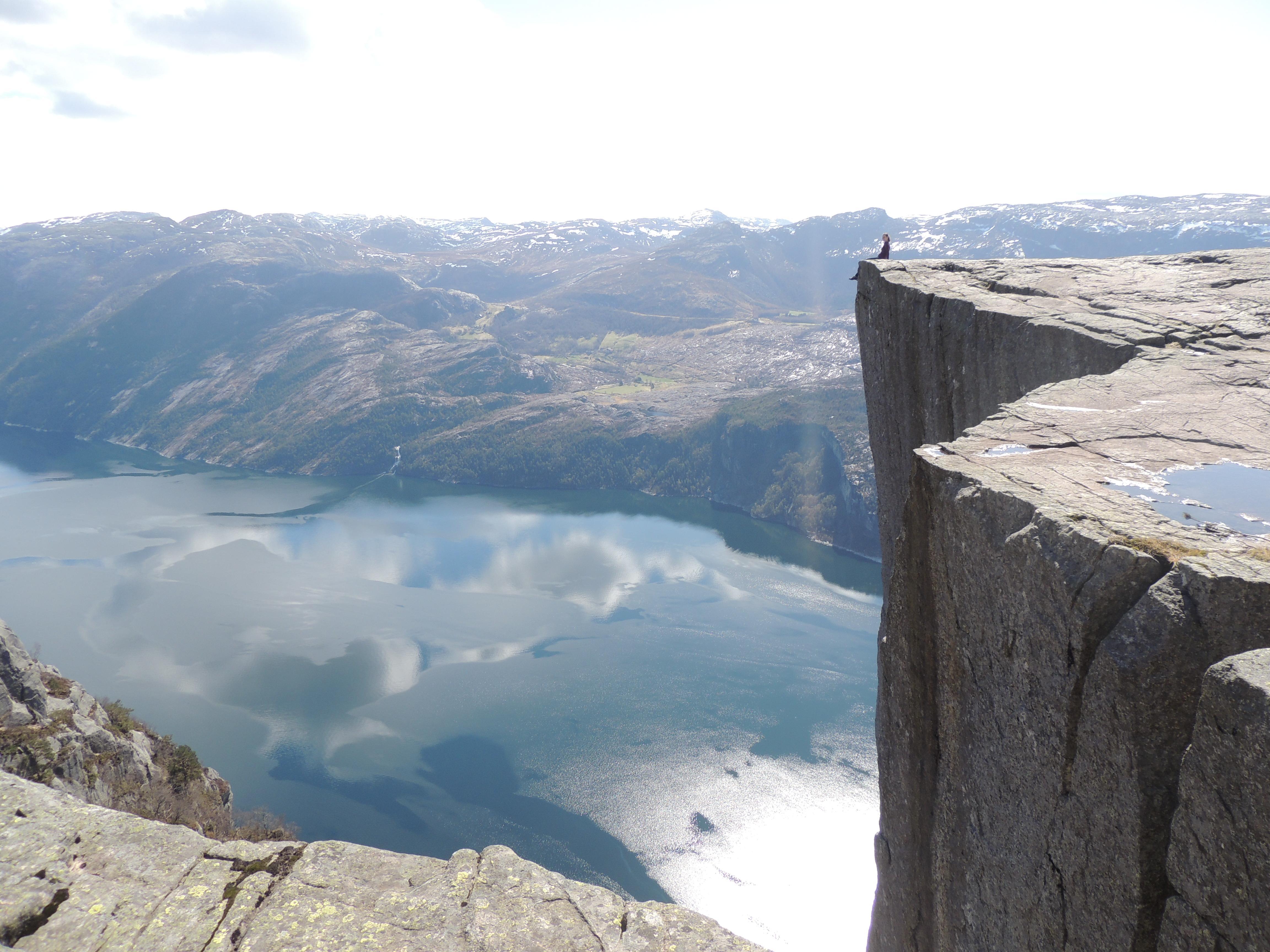 Preikestolen: um fiorde norueguês