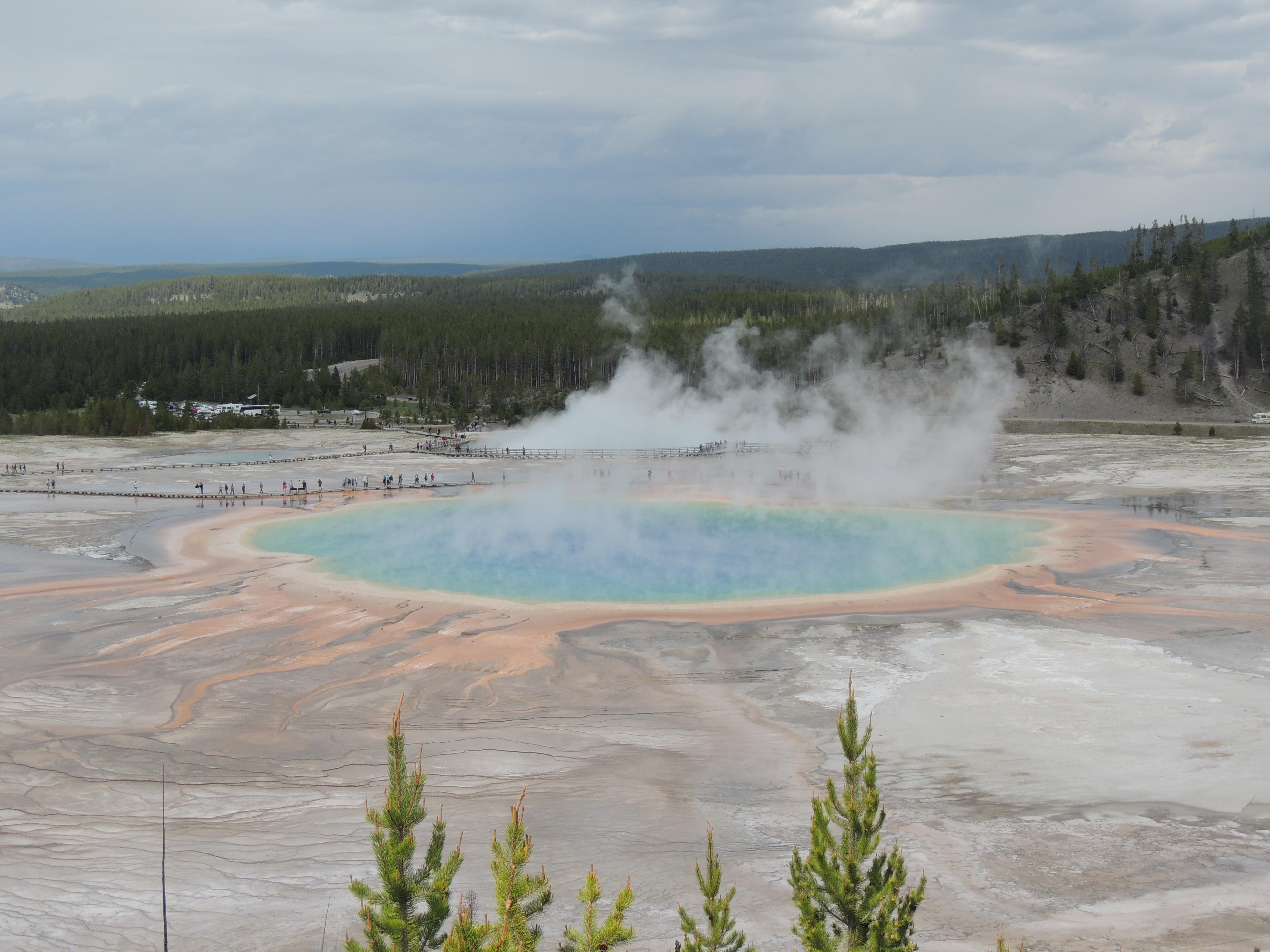 Parque Nacional de Yellowstone: fascinante e intrigante!