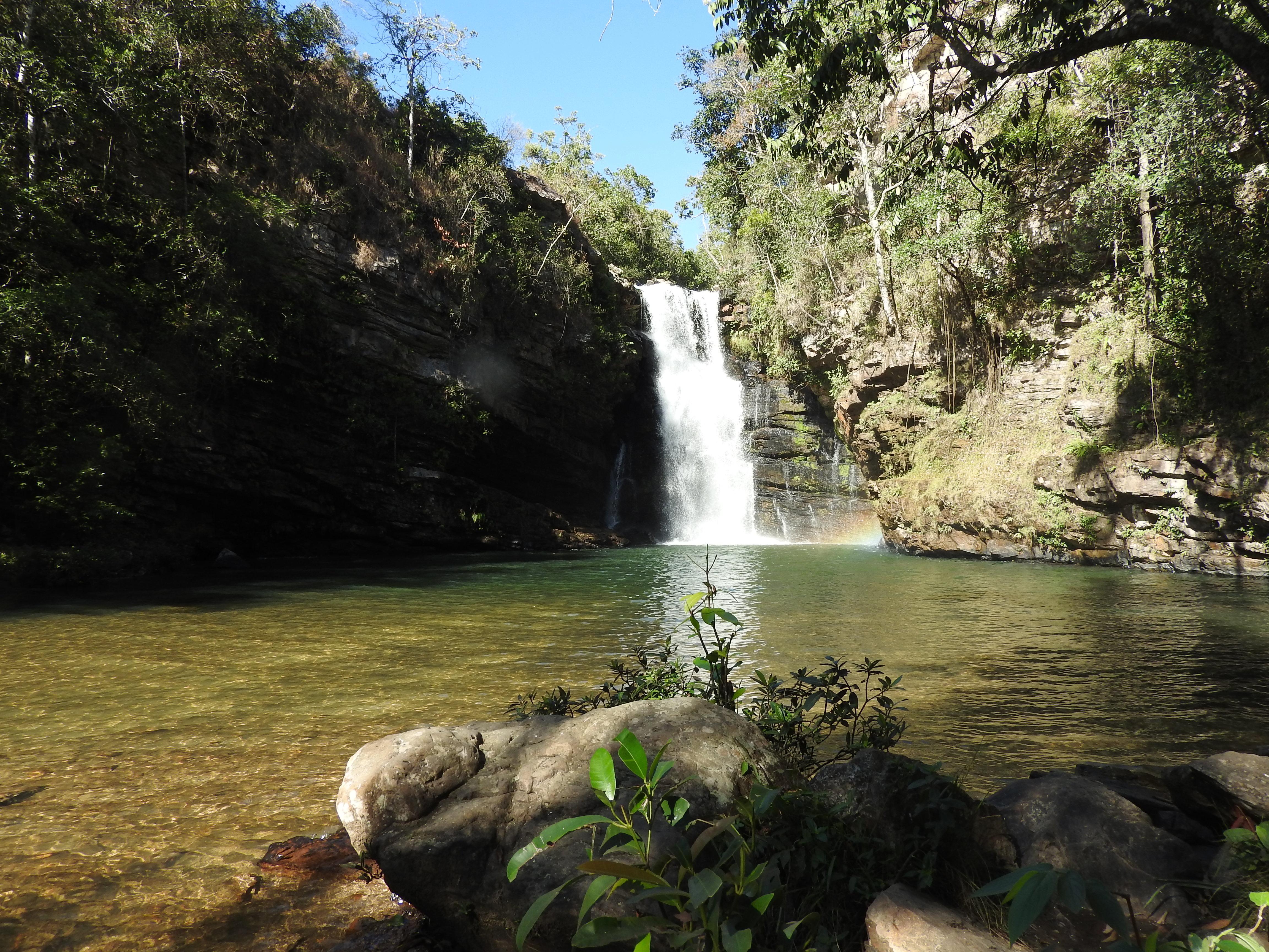 Da Cachoeira do Indaiá até o topo do Salto do Itiquira