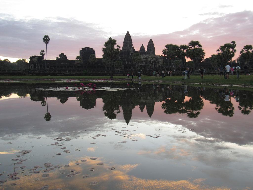 Camboja, o Angkor Wat e outros templos em Siem Reap