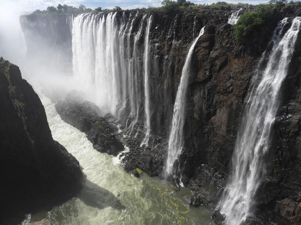Victoria Falls, a maior queda d'água do mundo
