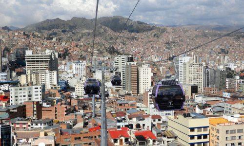 La Paz e uma esticada para o lago Titicaca